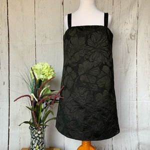 J. Crew Floral Embossed Convertible Strap Dress